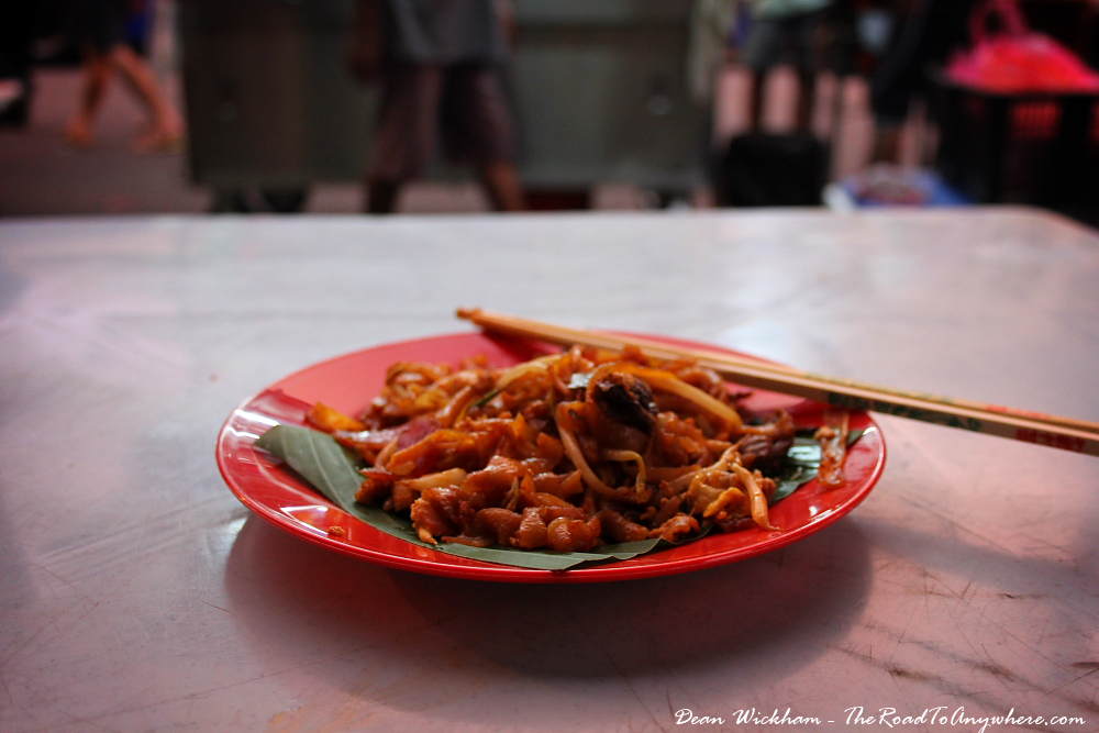 Char Kaoy Teow in Chinatown, Penang, Malaysia