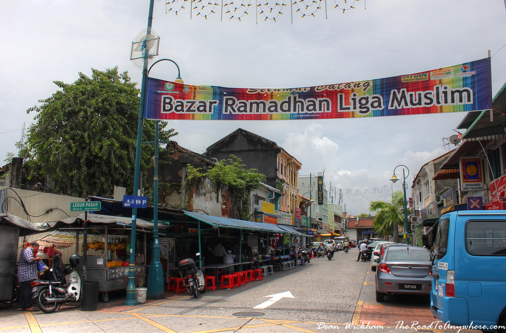 Entering Little India in George Town, Penang, Malaysia