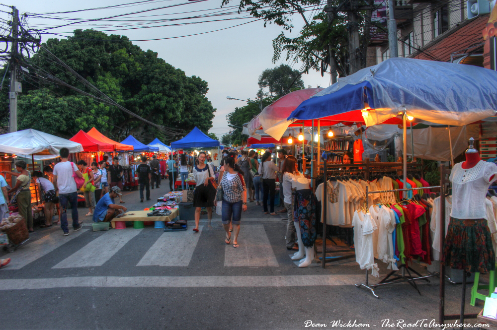 Sunday Market in Chiang Mai, Thailand