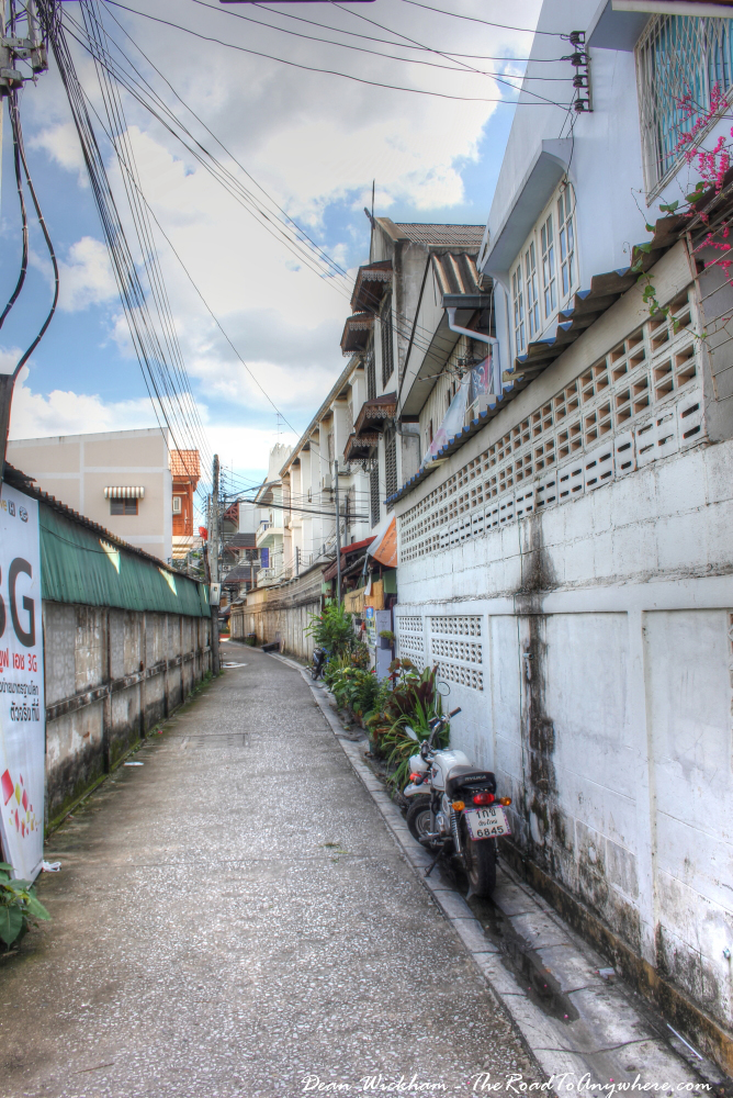 Alleyway in Chiang Mai, Thailand