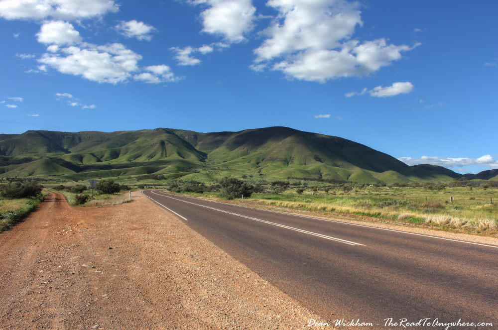 South Flinders Ranges in South Australia