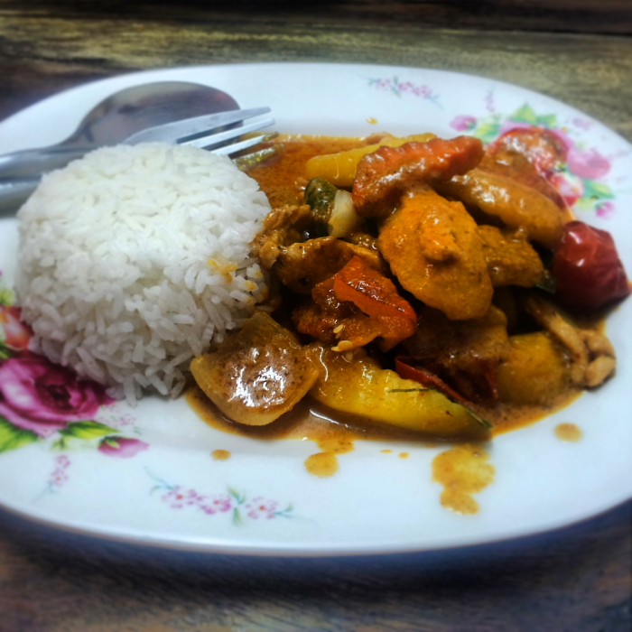 Yellow Curry in Chiang Mai, Thailand