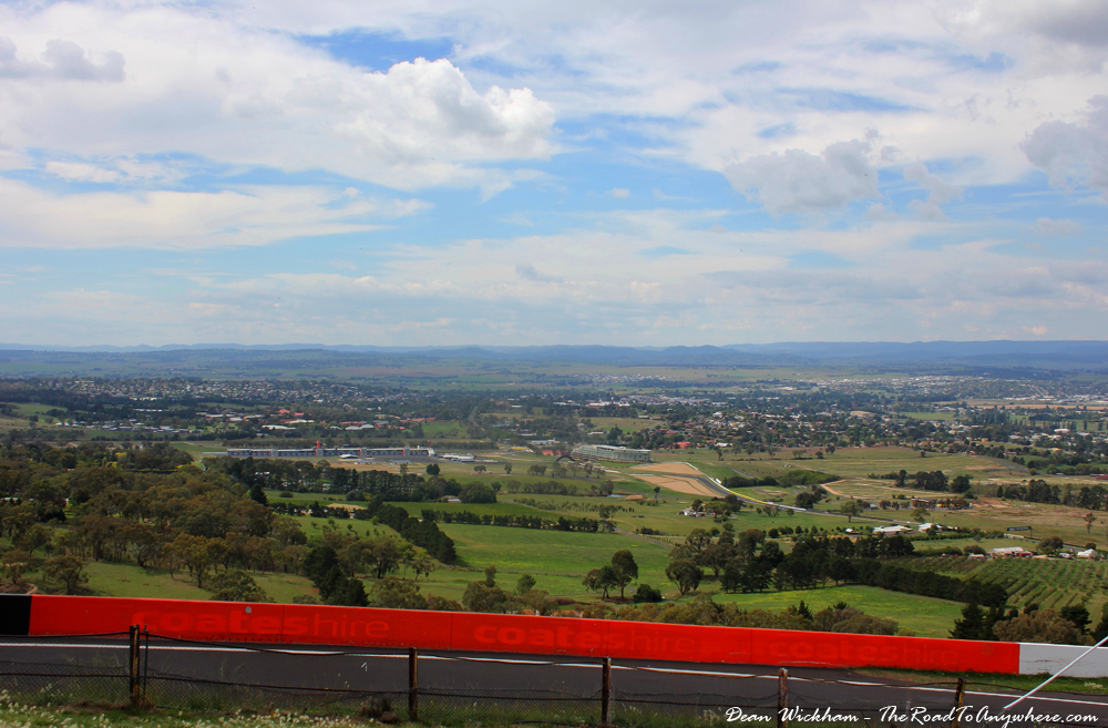 View from Mount Panorama in Bathurst, Australia