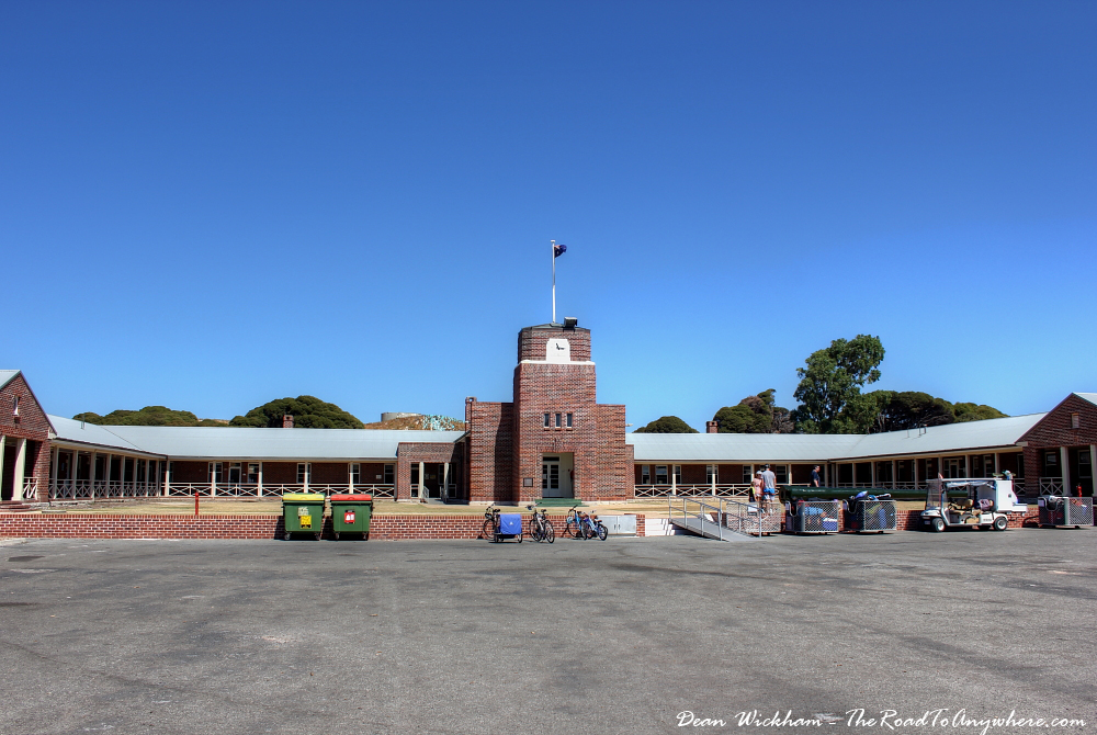 Kingston Barracks on Rottnest Island, Western Australia