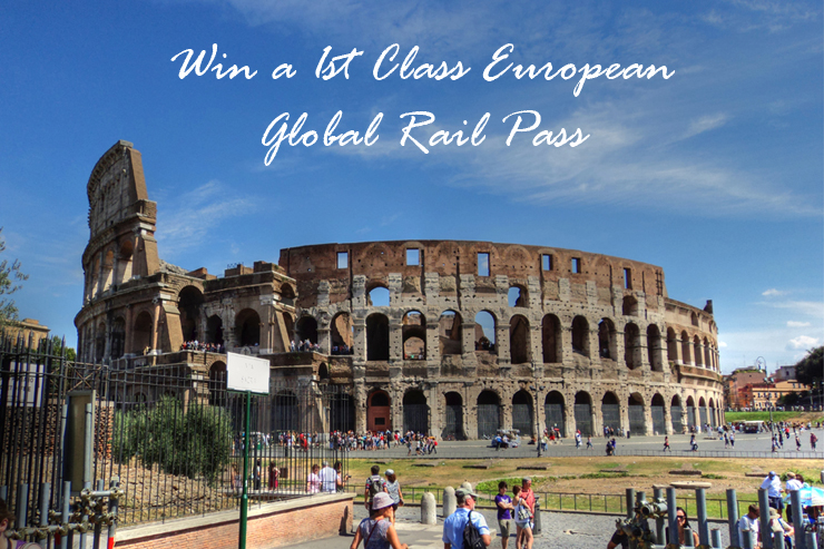 Win a 1st class Eurail Global Pass