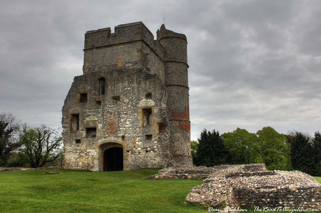 The ruins at Donnington Castle, Berkshire, England
