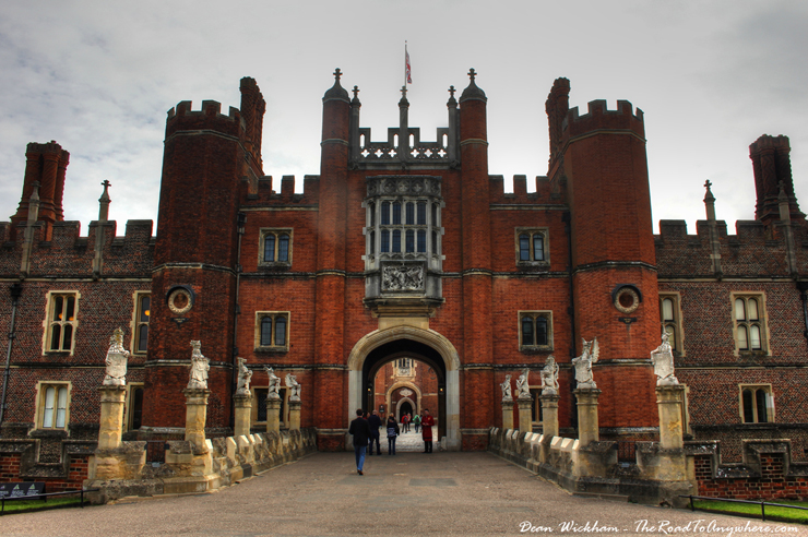 Royal History and Extravagance at Hampton Court Palace, England