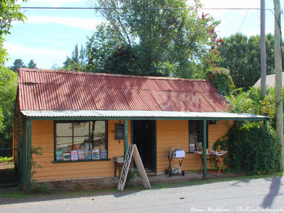 Old Book Shop in Sofala, Australia