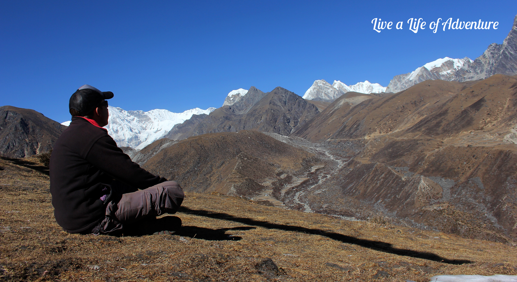 Contemplating life at 4500m in Machhermo, Nepal