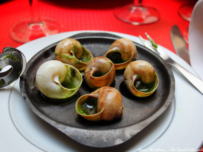 Escargot in Paris, France