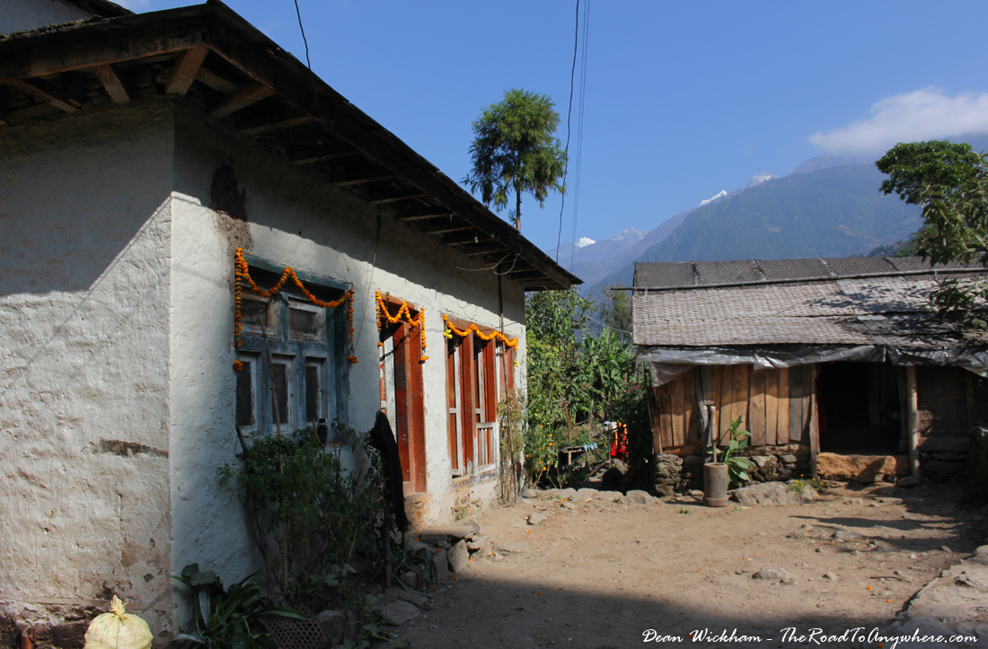 A house in Jubing, Nepal