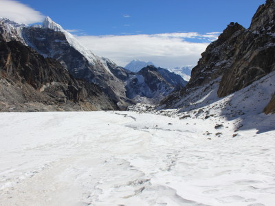 Crossing the Cho La Pass in Nepal
