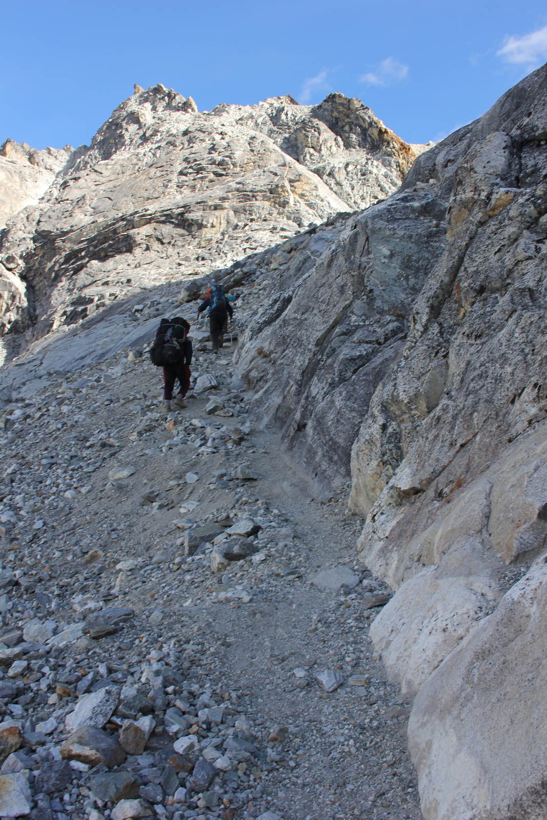 Trekking the Cho La Pass in Nepal