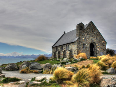 Church of the Good Shepherd in Lake Tekapo, New Zealand