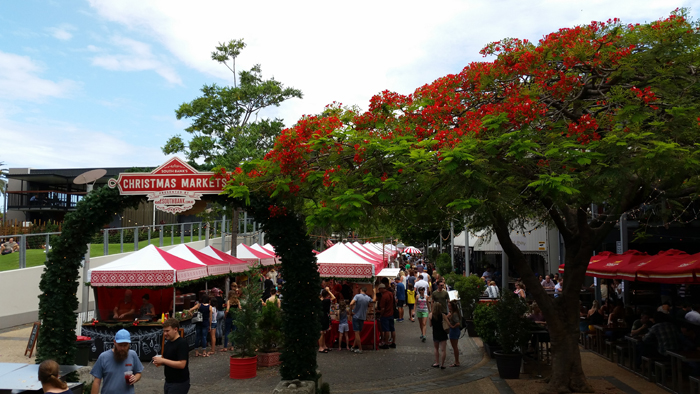 Southbank Markets in Brisbane