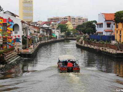 River Boat in Melacca, Malaysia