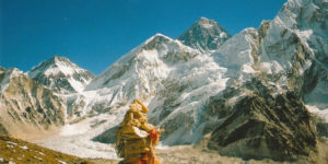 Going face to face with Mount Everest
