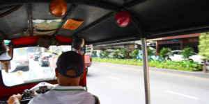 What will a 20Baht tuk tuk ride get you in Bangkok?
