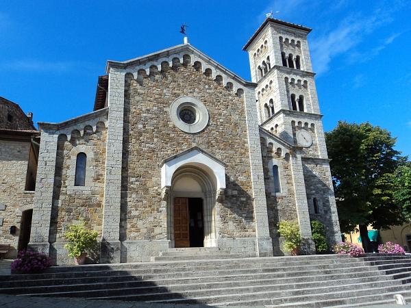 Church in Castellina in Chianti, Italy
